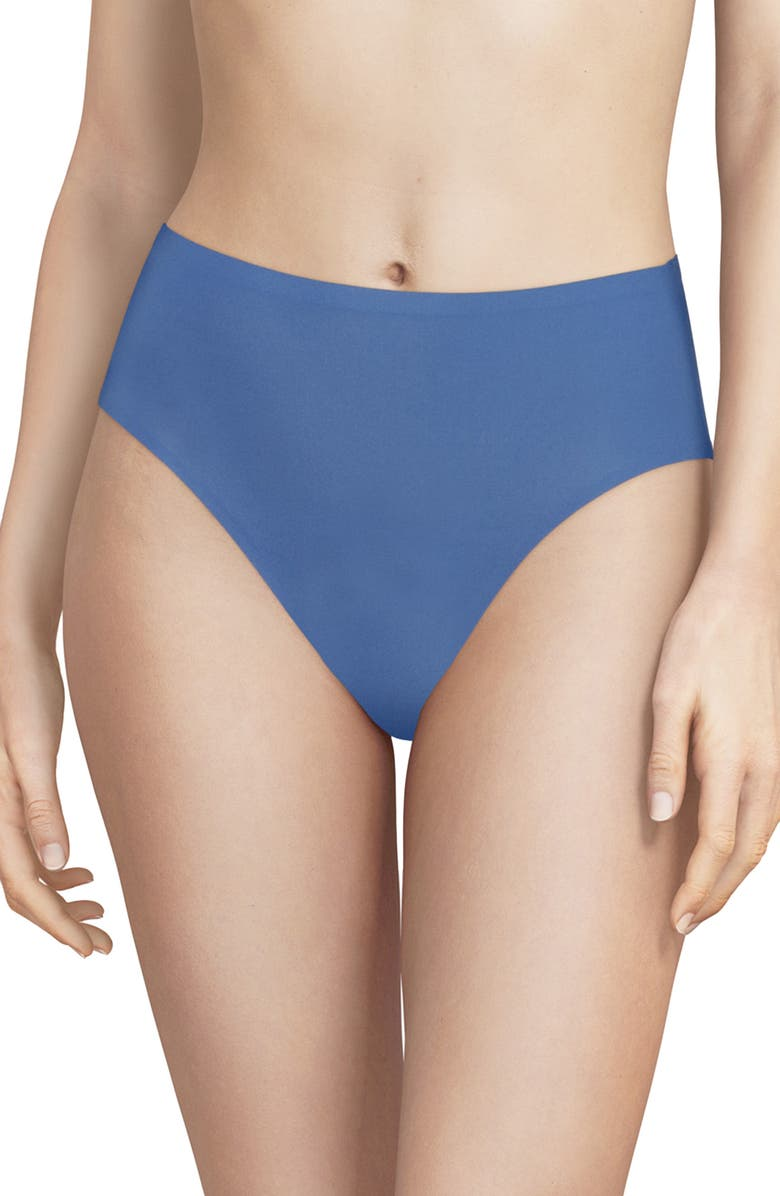 CHANTELLE LINGERIE Soft Stretch Seamless French Cut Briefs, Main, color, NORTHERN BLUE