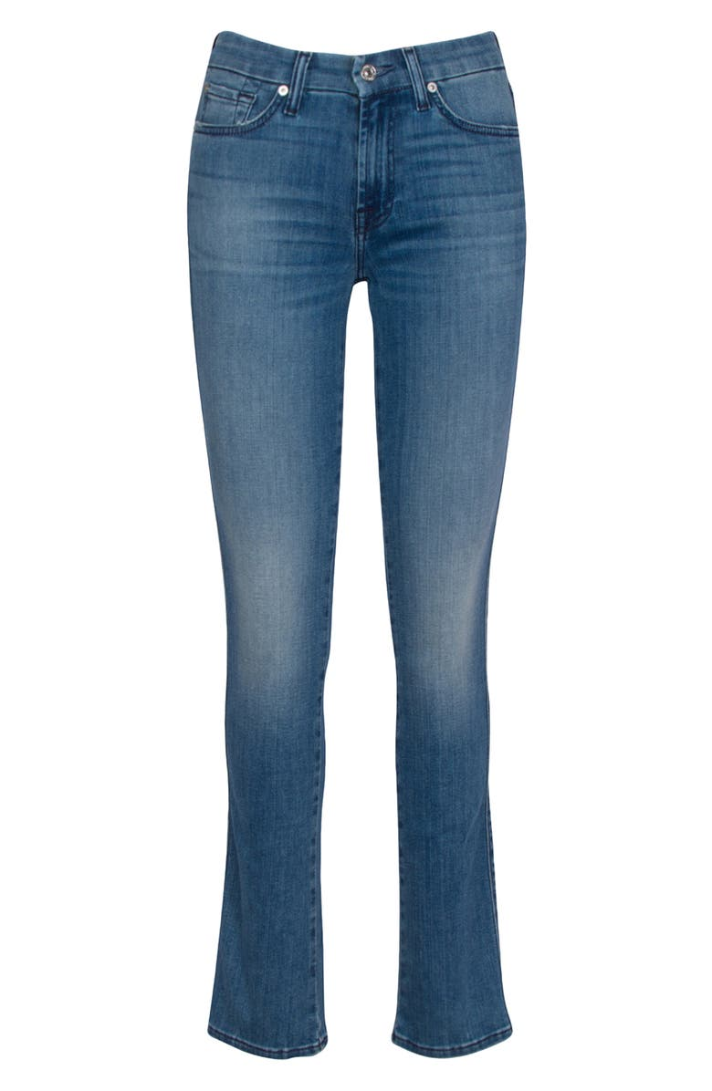 7 FOR ALL MANKIND<SUP>®</SUP> Kimmie Straight Leg Jeans, Main, color, WILCOX