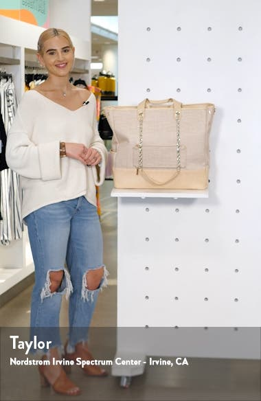 The Woven Tote, sales video thumbnail