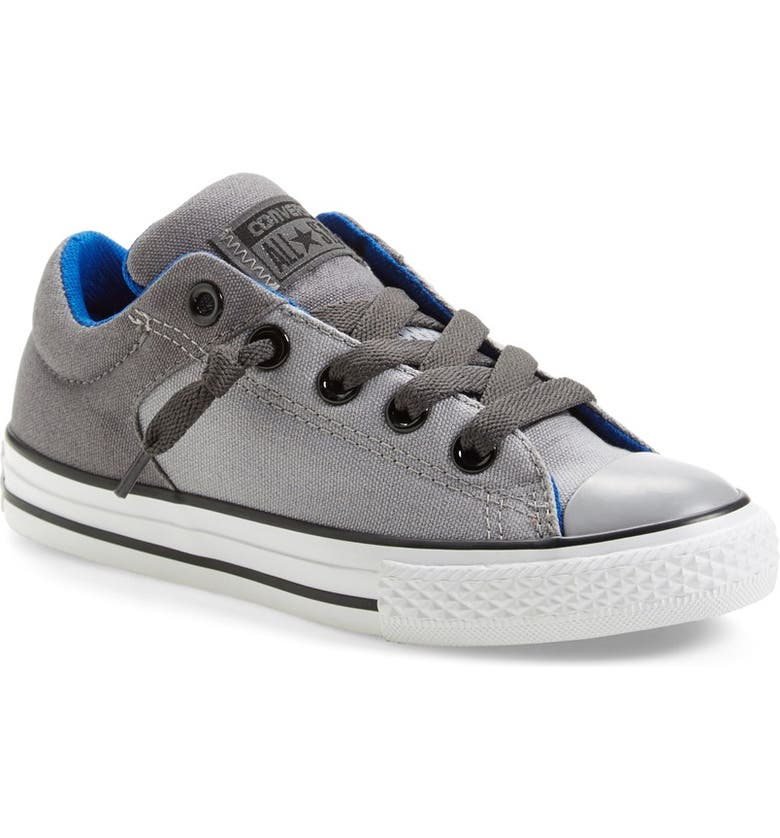 CONVERSE Chuck Taylor<sup>®</sup> All Star<sup>®</sup> 'High Street' Low Top Sneaker, Main, color, DOLPHIN/ THUNDER/ BLUE