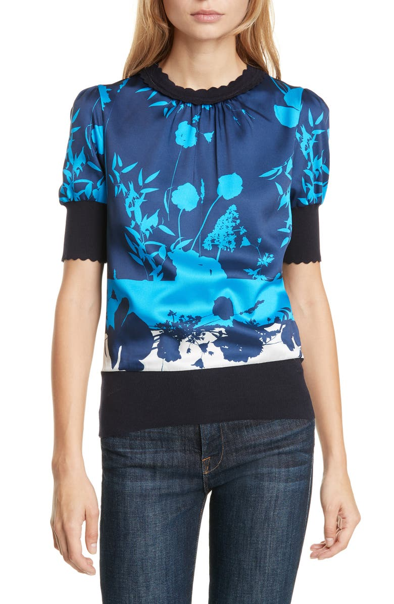 TED BAKER LONDON Mehino Bluebell Sweater, Main, color, 410