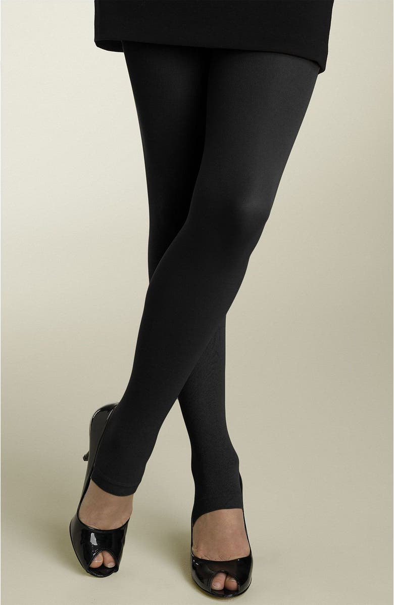 NORDSTROM Footless Tights, Main, color, 001