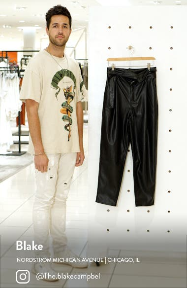Faux Leather Trousers, sales video thumbnail