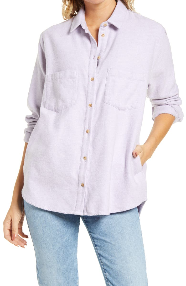 MADEWELL Flannel Sunday Shirt, Main, color, 500