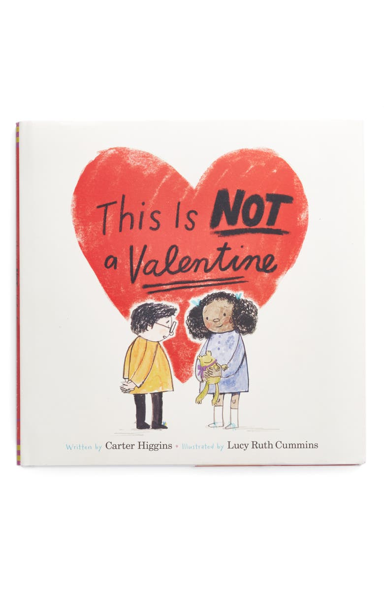 CHRONICLE BOOKS 'This Is Not A Valentine' Book, Main, color, RED