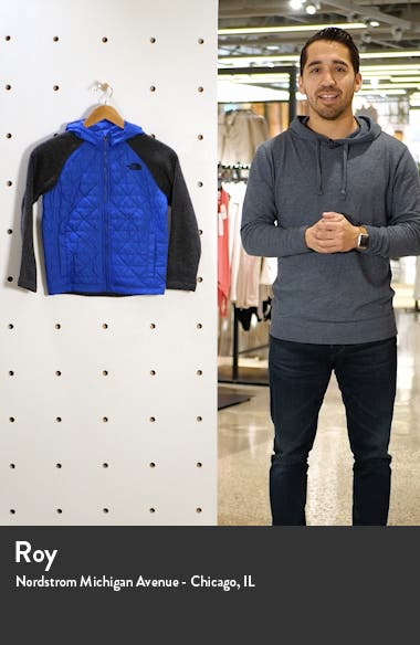 Quilted Sweater Fleece Hoodie, sales video thumbnail