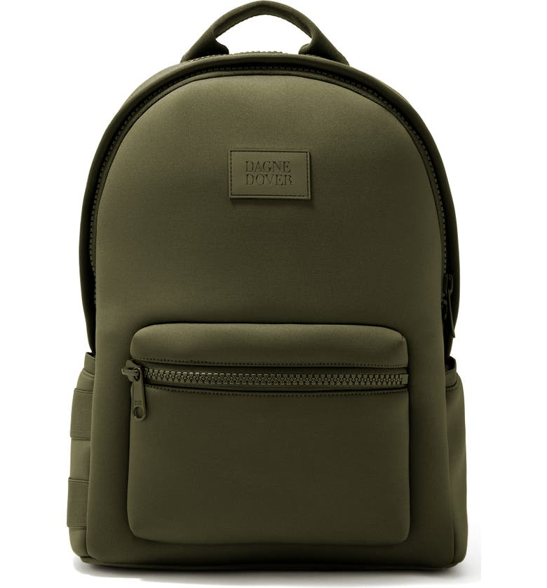 DAGNE DOVER Large Dakota Backpack, Main, color, DARK MOSS