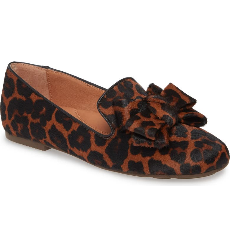 GENTLE SOULS BY KENNETH COLE Eugene Genuine Calf Hair Ribbon Loafer, Main, color, BROWN/ BROWN CALF HAIR