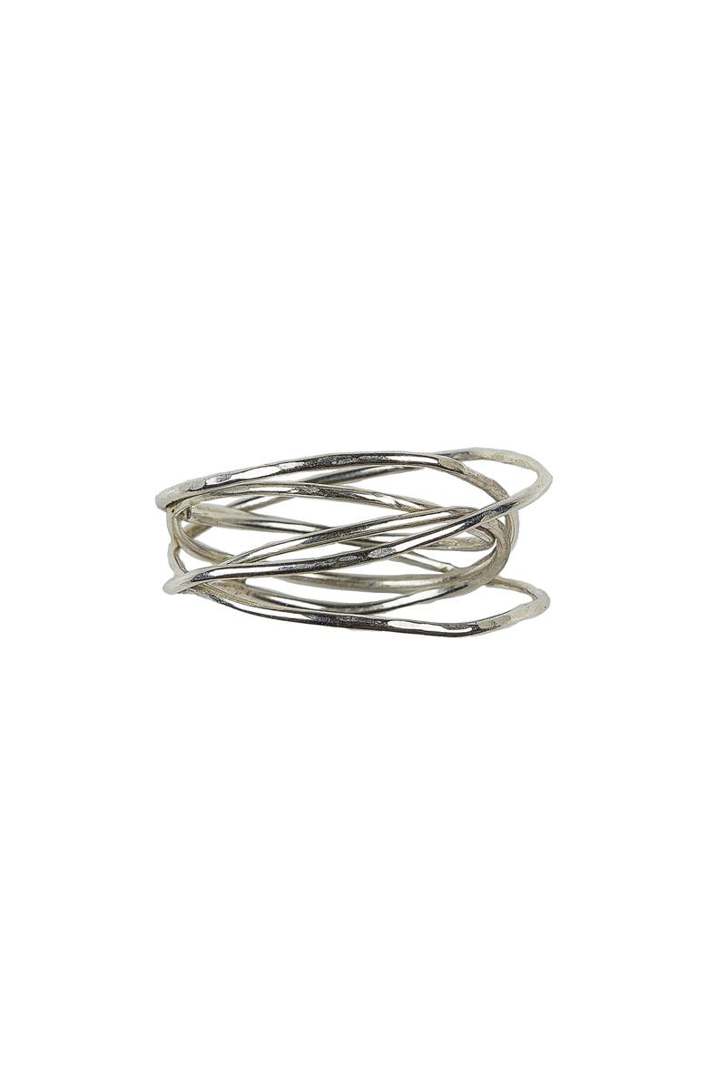 NASHELLE Storm Ring, Main, color, Silver