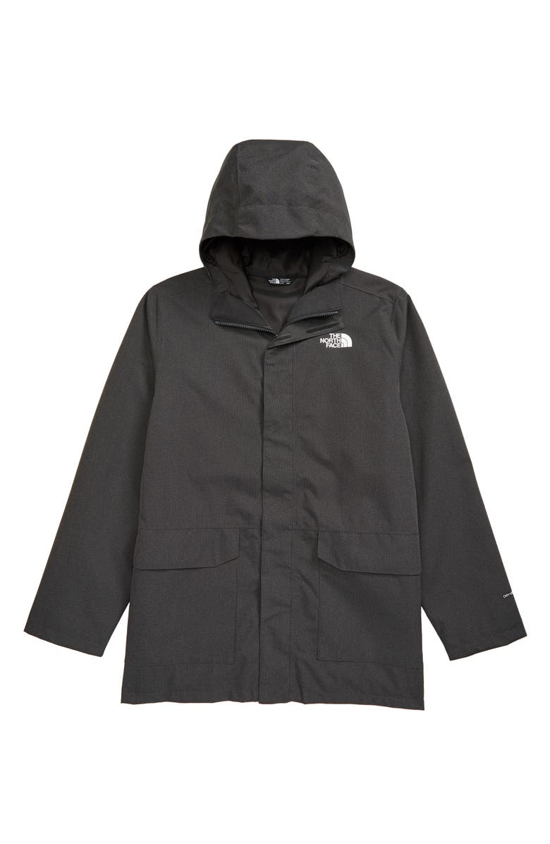 THE NORTH FACE Kids' Mix & Match TriClimate<sup>®</sup> Water Repellent Hooded Jacket, Main, color, ASPHALT GREY HEATHER