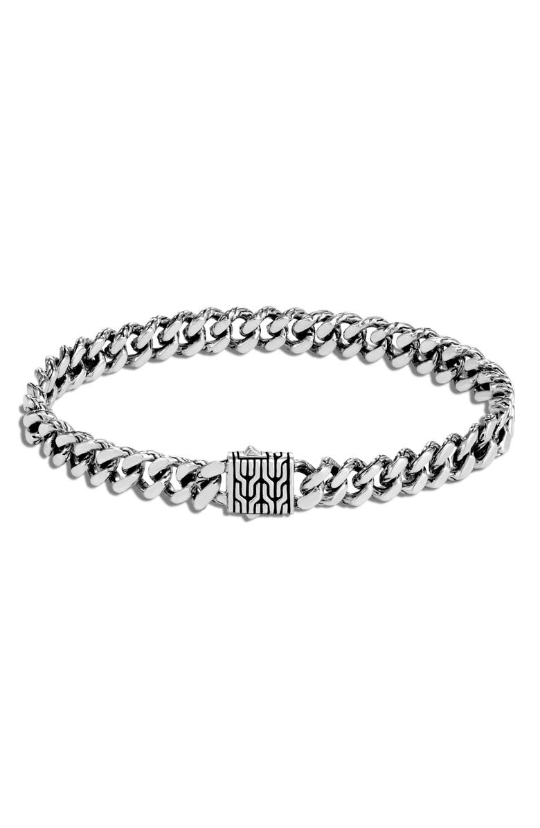 JOHN HARDY Classic Chain Sterling Silver Bracelet, Main, color, SILVER