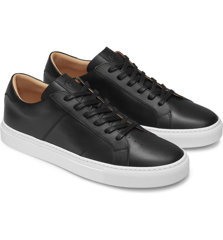 GREATS Royale Sneaker, Main, color, NERO LEATHER