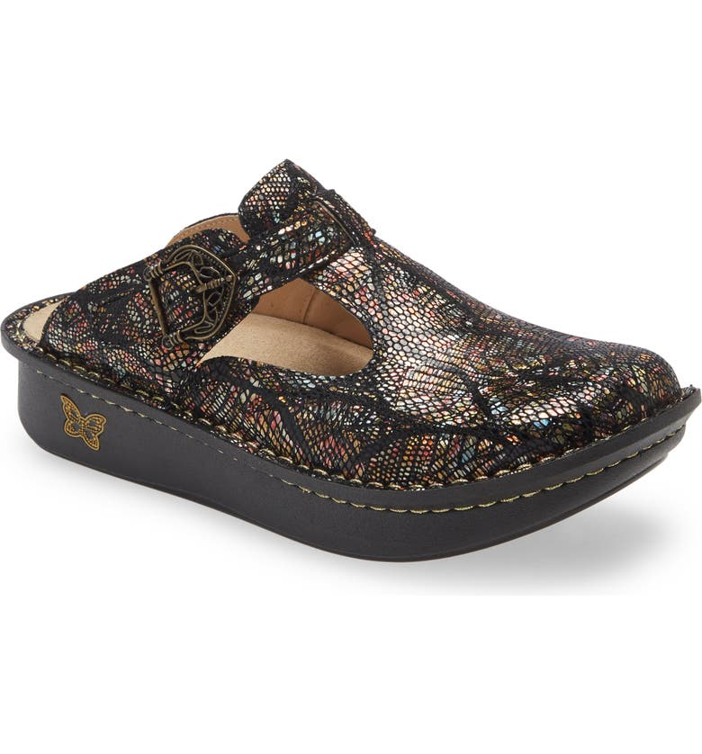 ALEGRIA 'Classic' Clog, Main, color, BROWN LEATHER