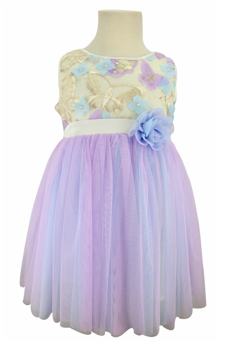 POPATU Butterfly Tulle Dress, Main, color, 503