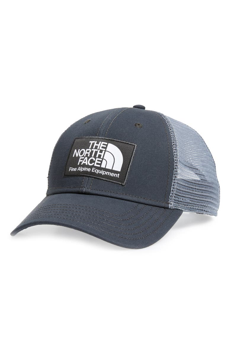 THE NORTH FACE Mudder Trucker Hat, Main, color, GREY