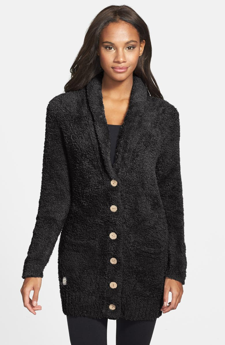 BAREFOOT DREAMS<SUP>®</SUP> Relaxed Fit CozyChic<sup>®</sup> Cardigan, Main, color, MIDNIGHT