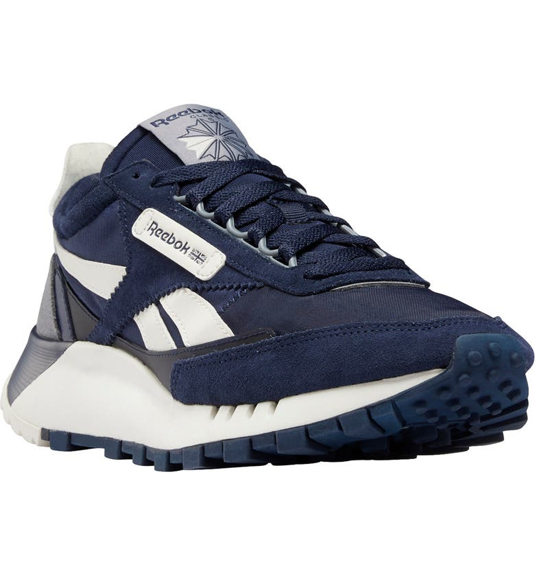 REEBOK Classic Legacy Sneaker, Main, color, VECTOR NAVY/ CHALK/ COLD GREY