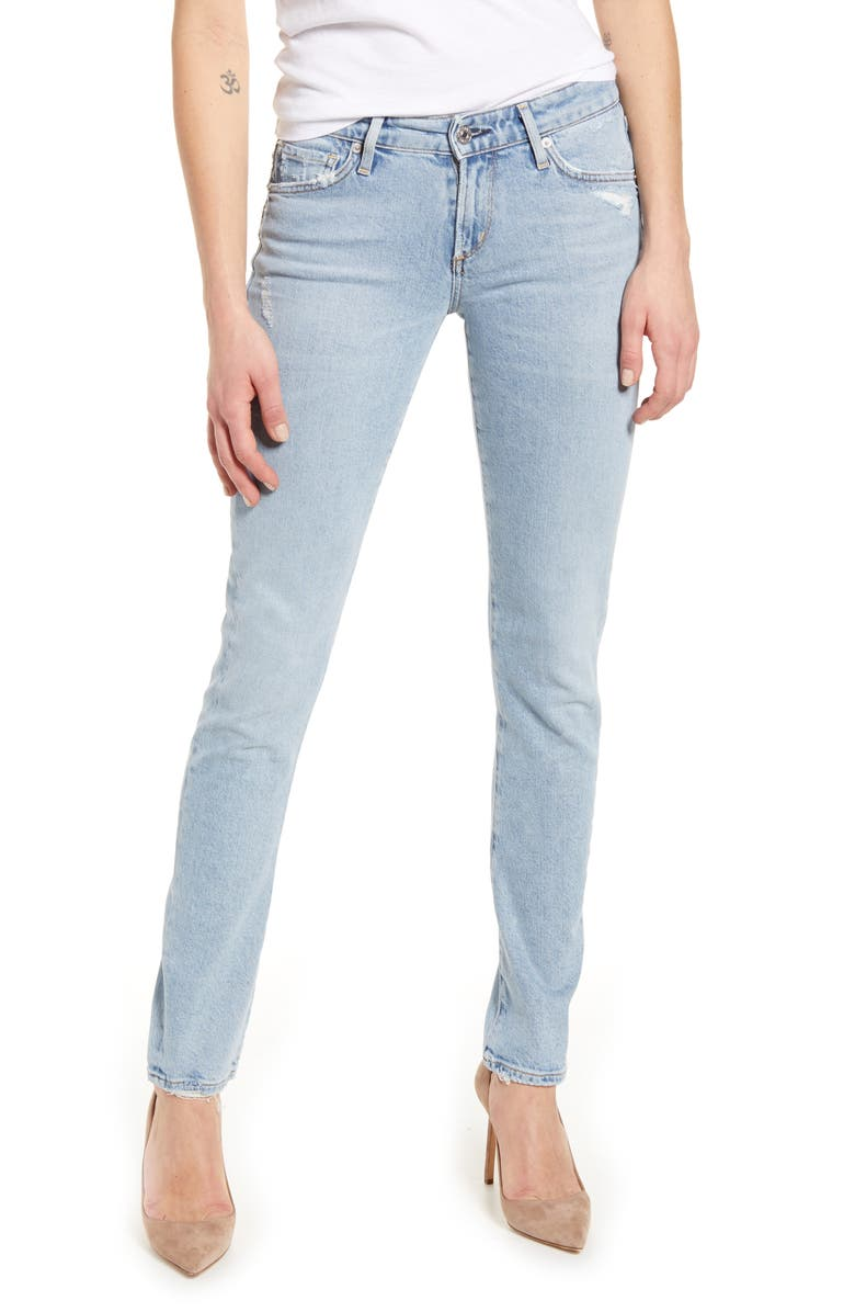 CITIZENS OF HUMANITY Racer Slim Jeans, Main, color, 460