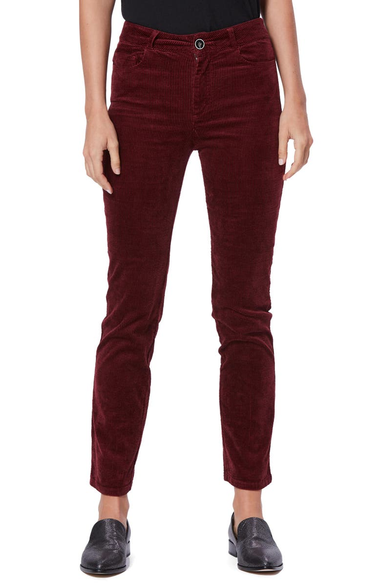PAIGE Hoxton Slim Corduroy Pants, Main, color, 930