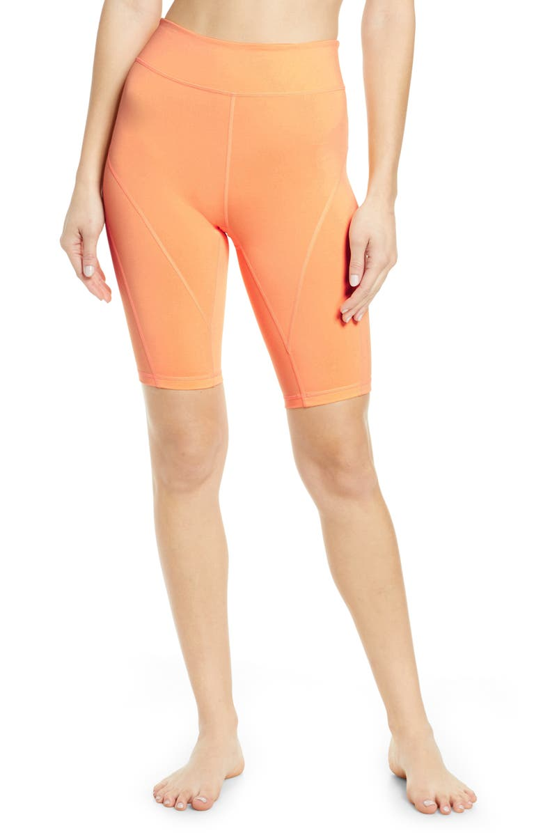 FREE PEOPLE FP MOVEMENT Free People Movement Bike Baby Shorts, Main, color, PEACH