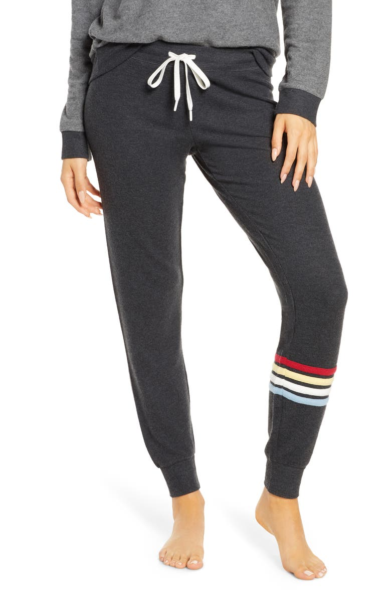 PJ SALVAGE Gone Napping Lounge Pants, Main, color, 011