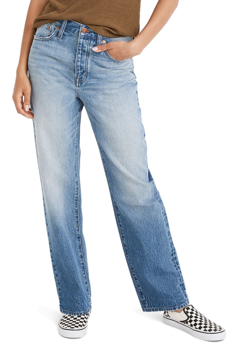 MADEWELL The Dadjean Jeans, Main, color, RADMORE