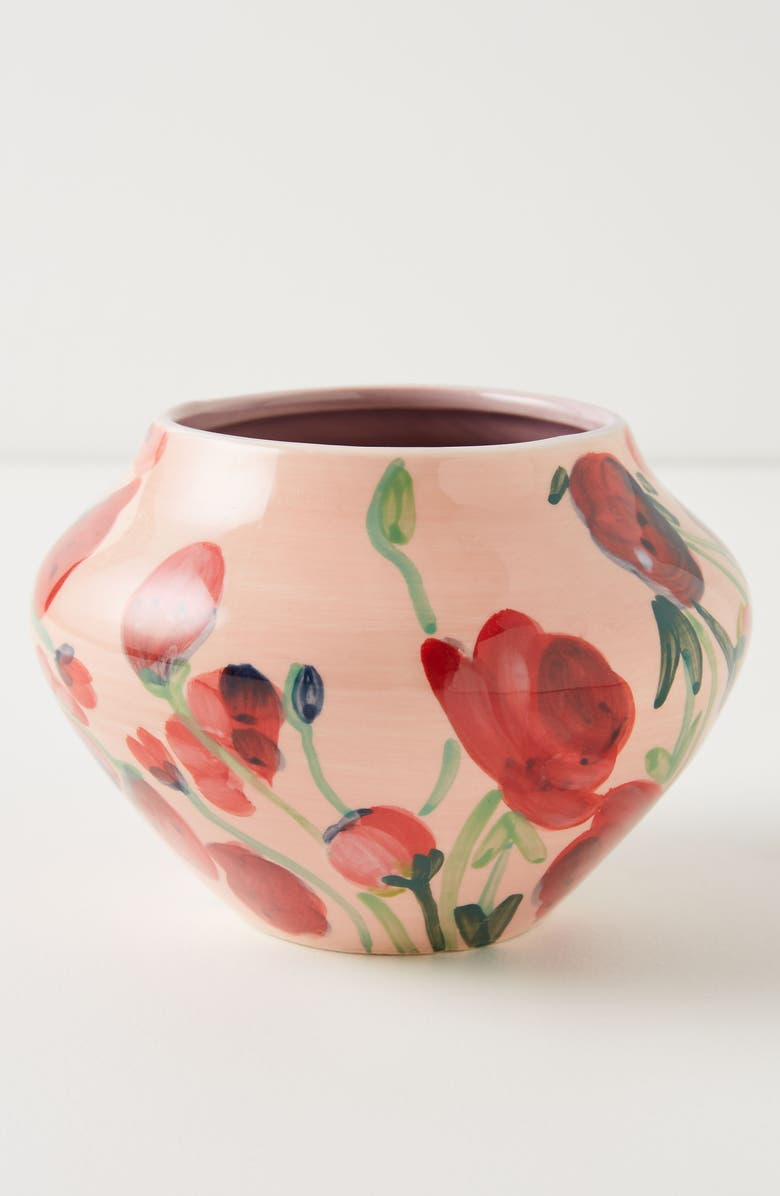 ANTHROPOLOGIE HOME Small Lizzie Vase, Main, color, 650