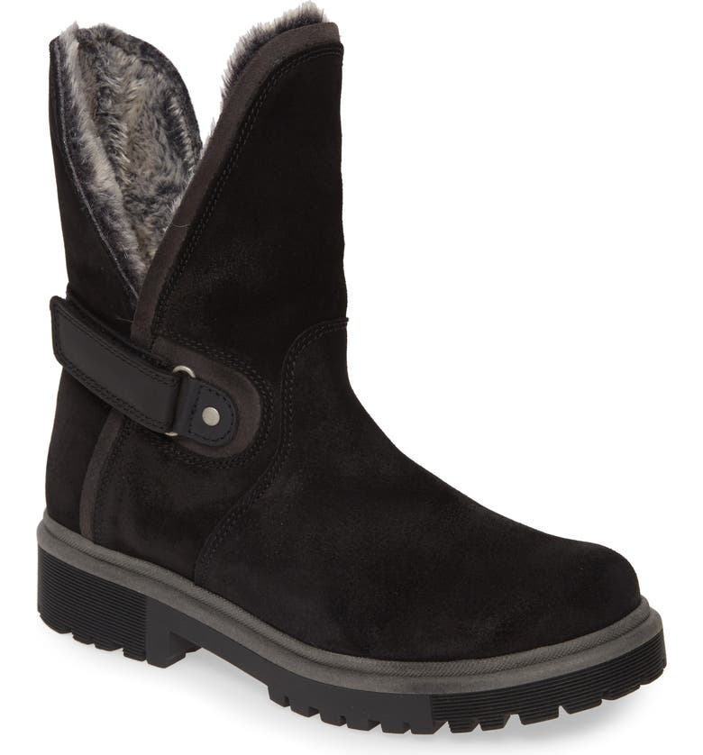 BOS. & CO. Aden Faux Fur Waterproof Boot, Main, color, 001