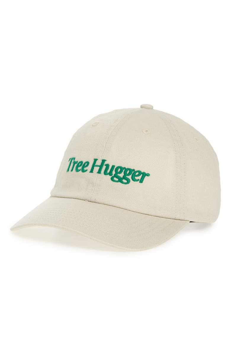 PARKS PROJECT x The Nature Conservancy Tree Hugger Baseball Hat, Main, color, NATURAL