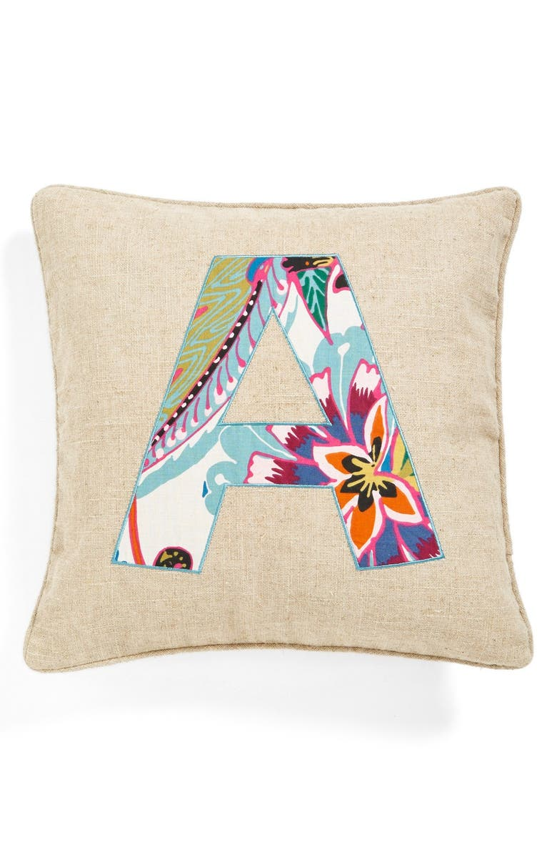 LEVTEX Personalized Pillow, Main, color, 250
