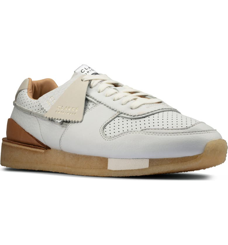 CLARKS<SUP>®</SUP> Torrun Sneaker, Main, color, WHITE COMBINATION
