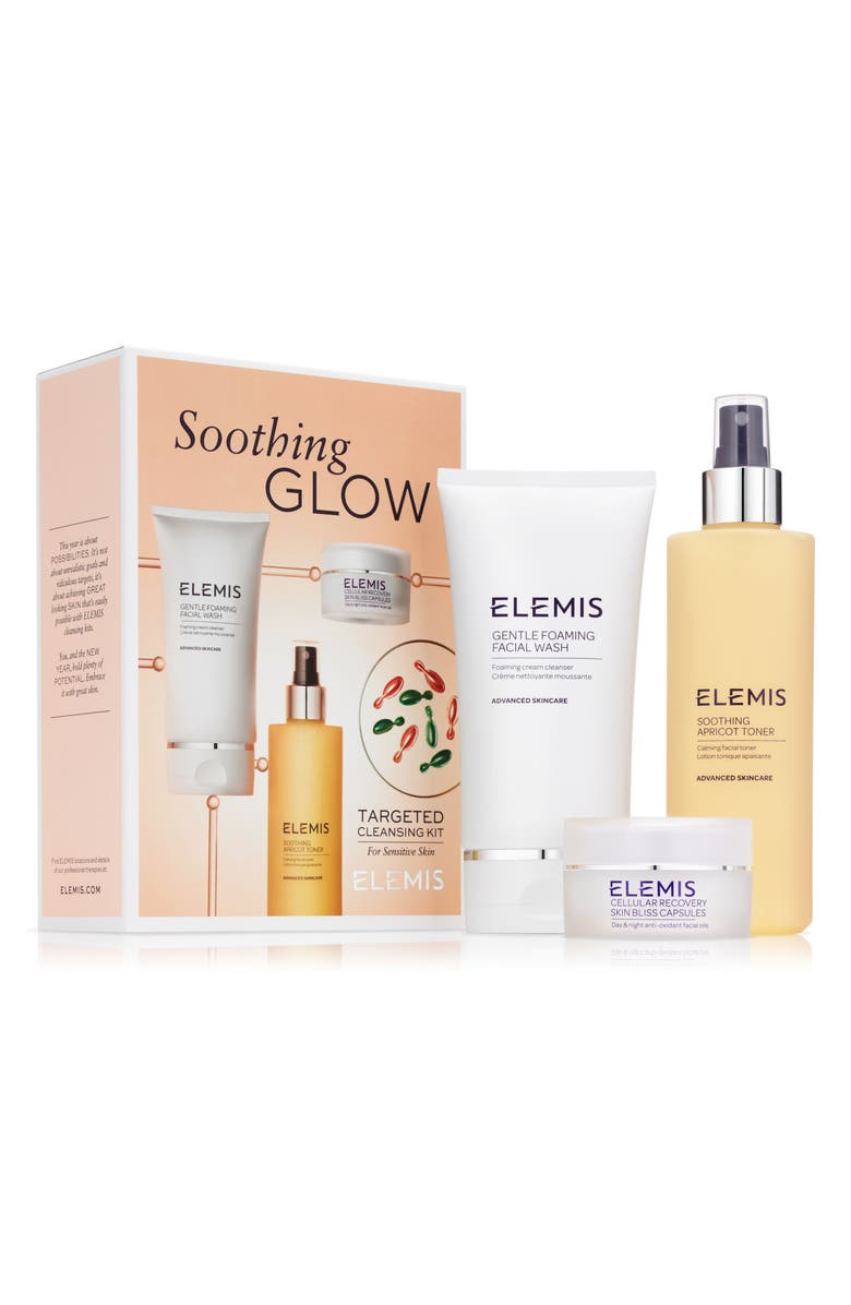 ELEMIS Soothing Glow Cleansing Kit, Main, color, No Color