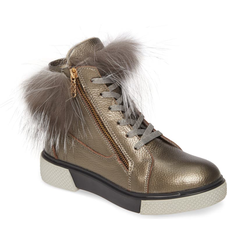 SHERIDAN MIA Toast Bootie, Main, color, PEWTER LEATHER