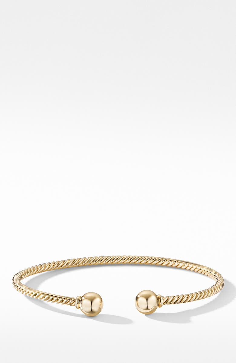 DAVID YURMAN Solari Bracelet in 18K Gold, Main, color, GOLD DOME