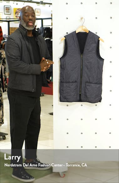 'Polarquilt' Relaxed Fit Zip-In Liner Vest, sales video thumbnail