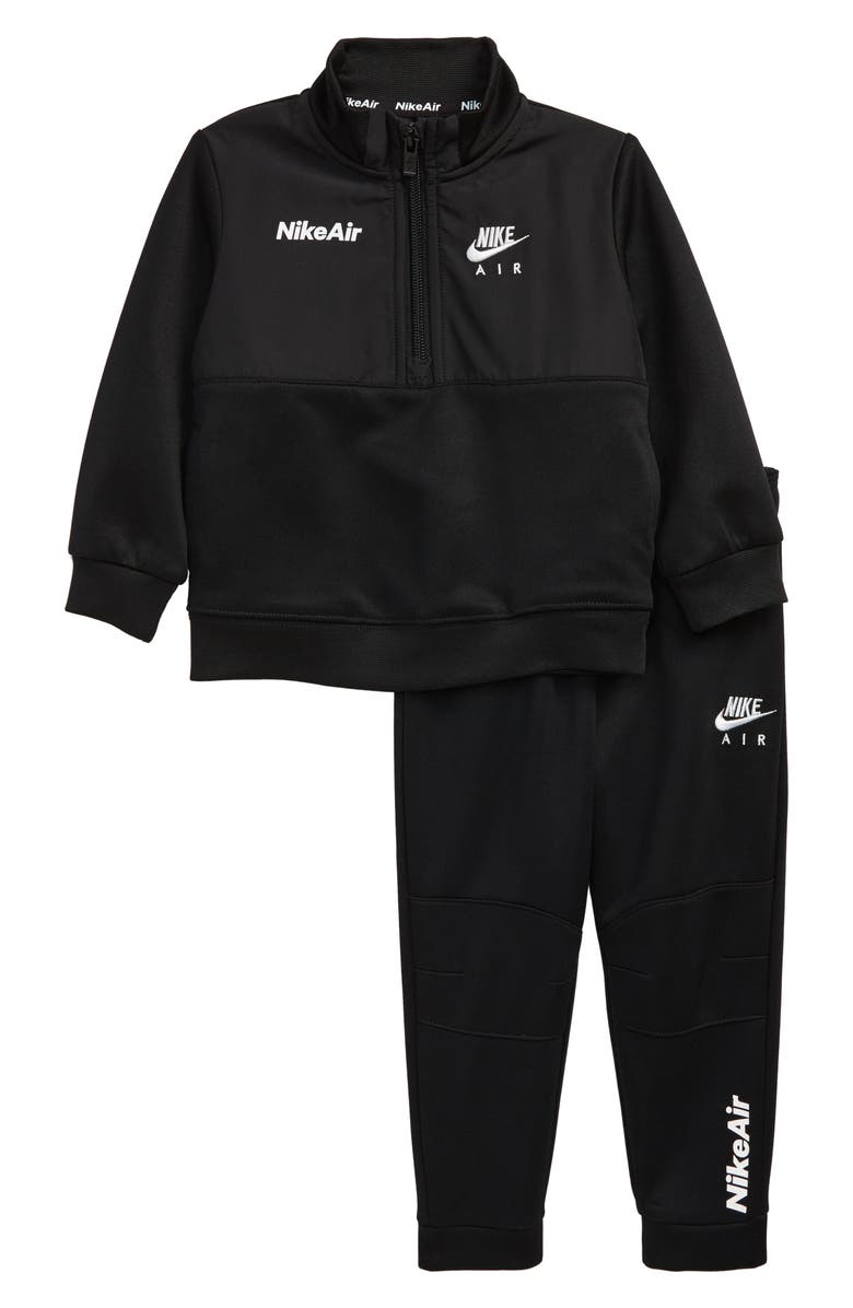 NIKE Air Half Zip Pullover & Sweatpants Set, Main, color, 019