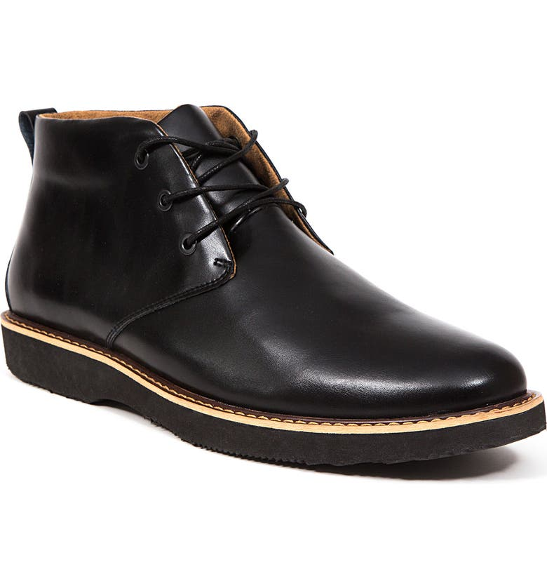 DEER STAGS Walkmaster Chukka Boot - Wide Width Available, Main, color, BLACK