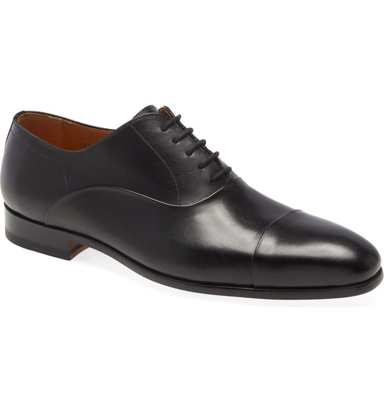 MAGNANNI Segovia Cap Toe Oxford, Main, color, 001