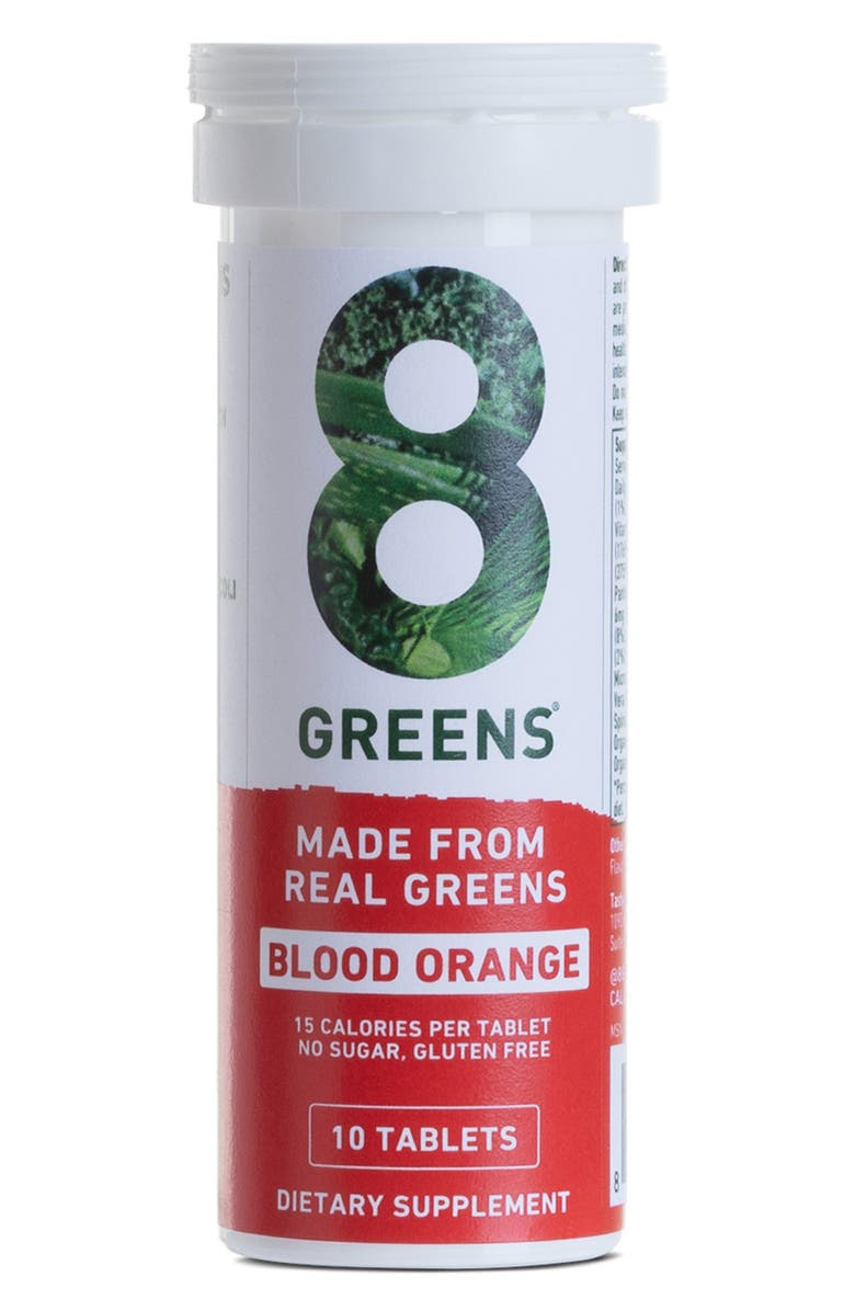 8G Greens Blood Orange Dietary Supplement, Main, color, NO COLOR