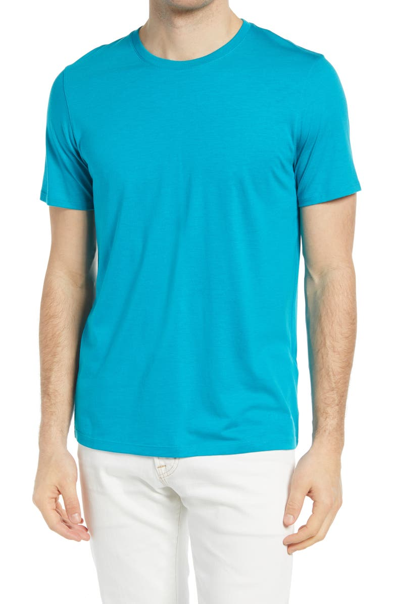 TED BAKER LONDON Funda T-Shirt, Main, color, TURQUOISE