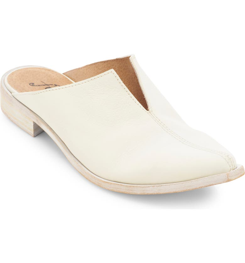 FREE PEOPLE Harlow Mule, Main, color, CHALK LEATHER