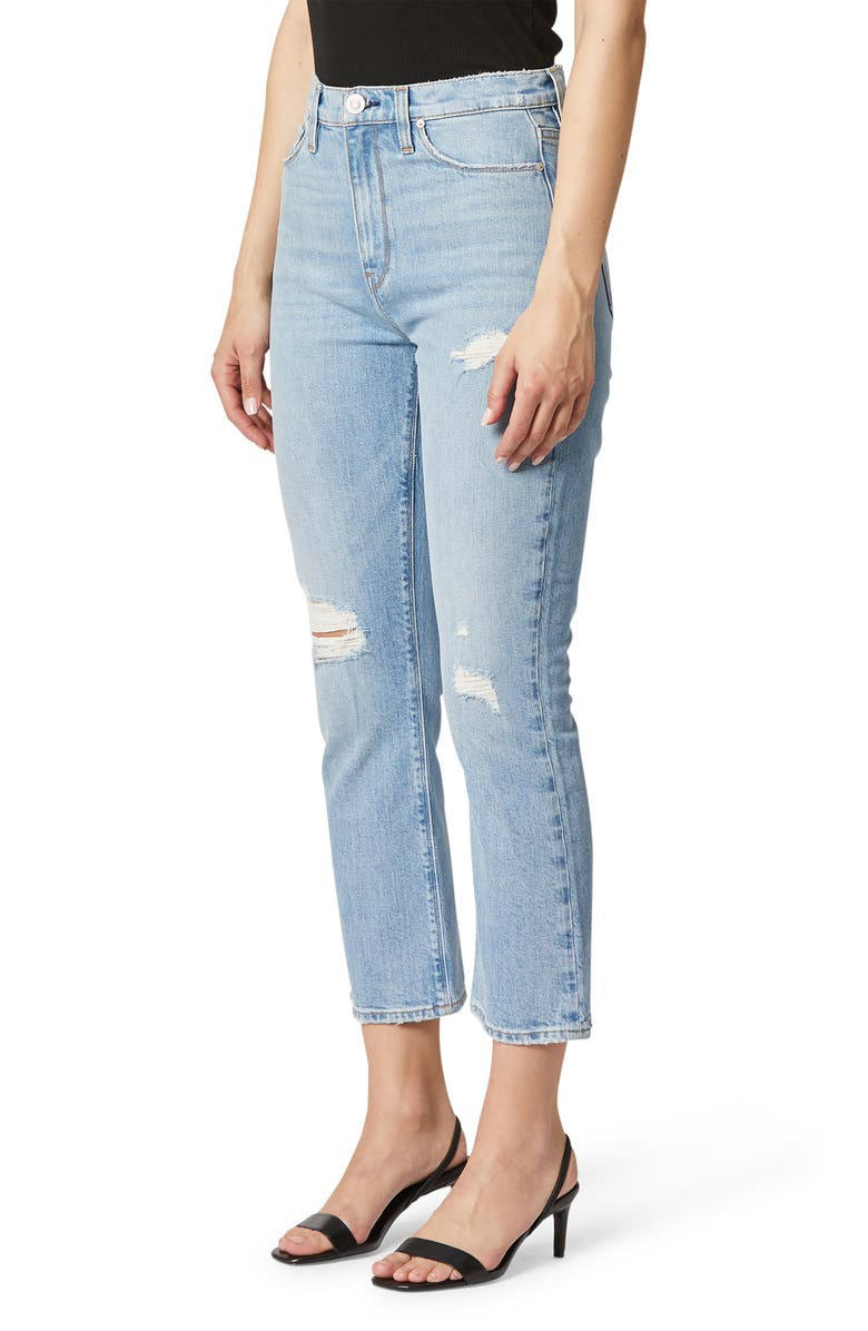 HUDSON JEANS Holly High Waist Crop Bootcut Jeans, Main, color, BRIGHTSIDE