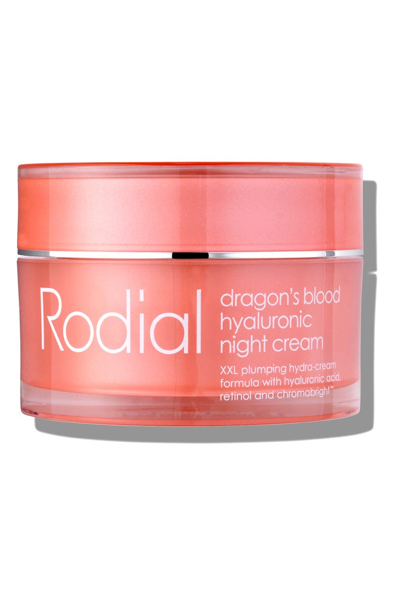 RODIAL Dragon's Blood Hyaluronic Night Cream, Main, color, NO COLOR