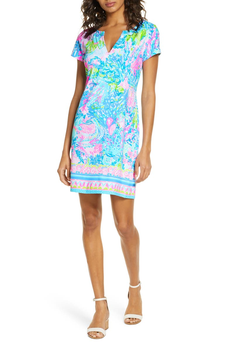 LILLY PULITZER<SUP>®</SUP> Sophiletta UPF 50+ Shift Dress, Main, color, 440