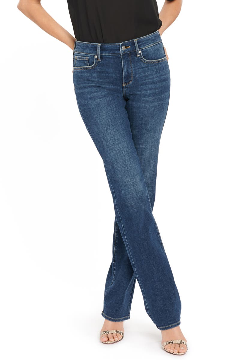 NYDJ Marilyn Straight Leg Jeans, Main, color, MARCEL