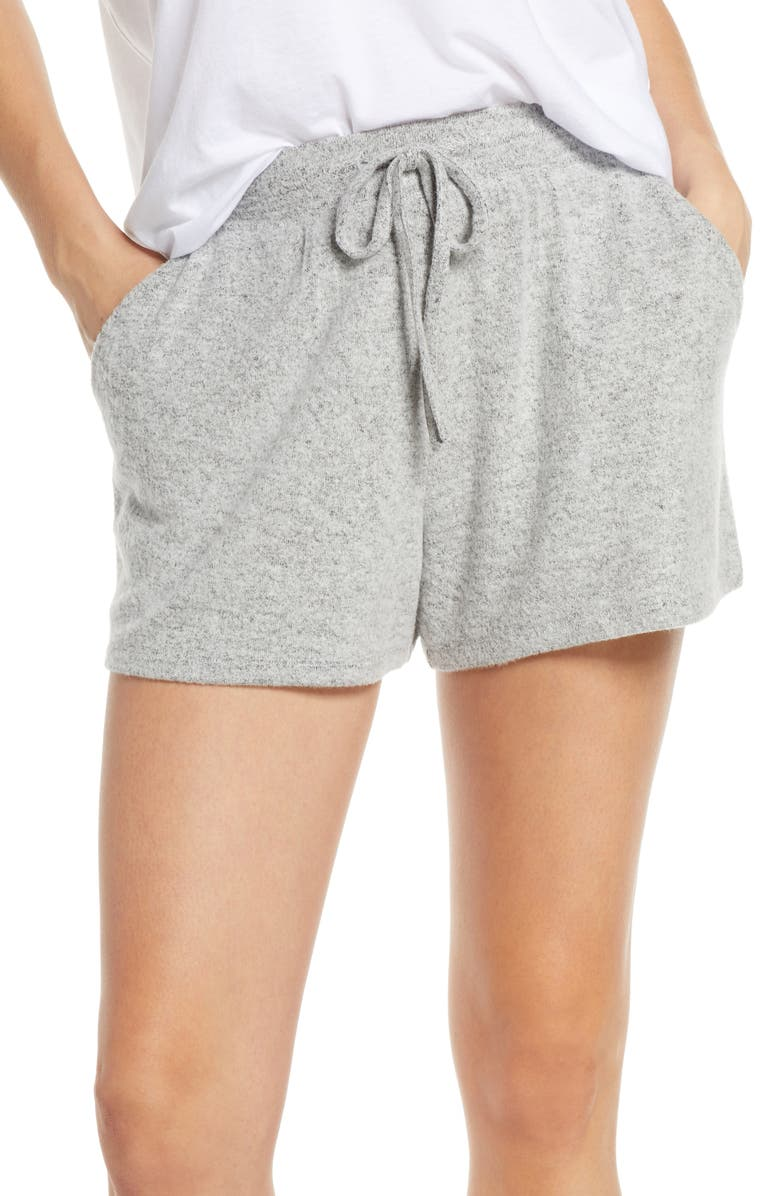 BP. Cozy Shorts, Main, color, GREY PEARL MARL