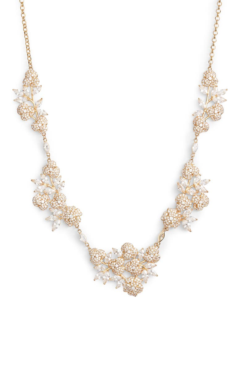 KATE SPADE NEW YORK that special sparkle necklace, Main, color, 710