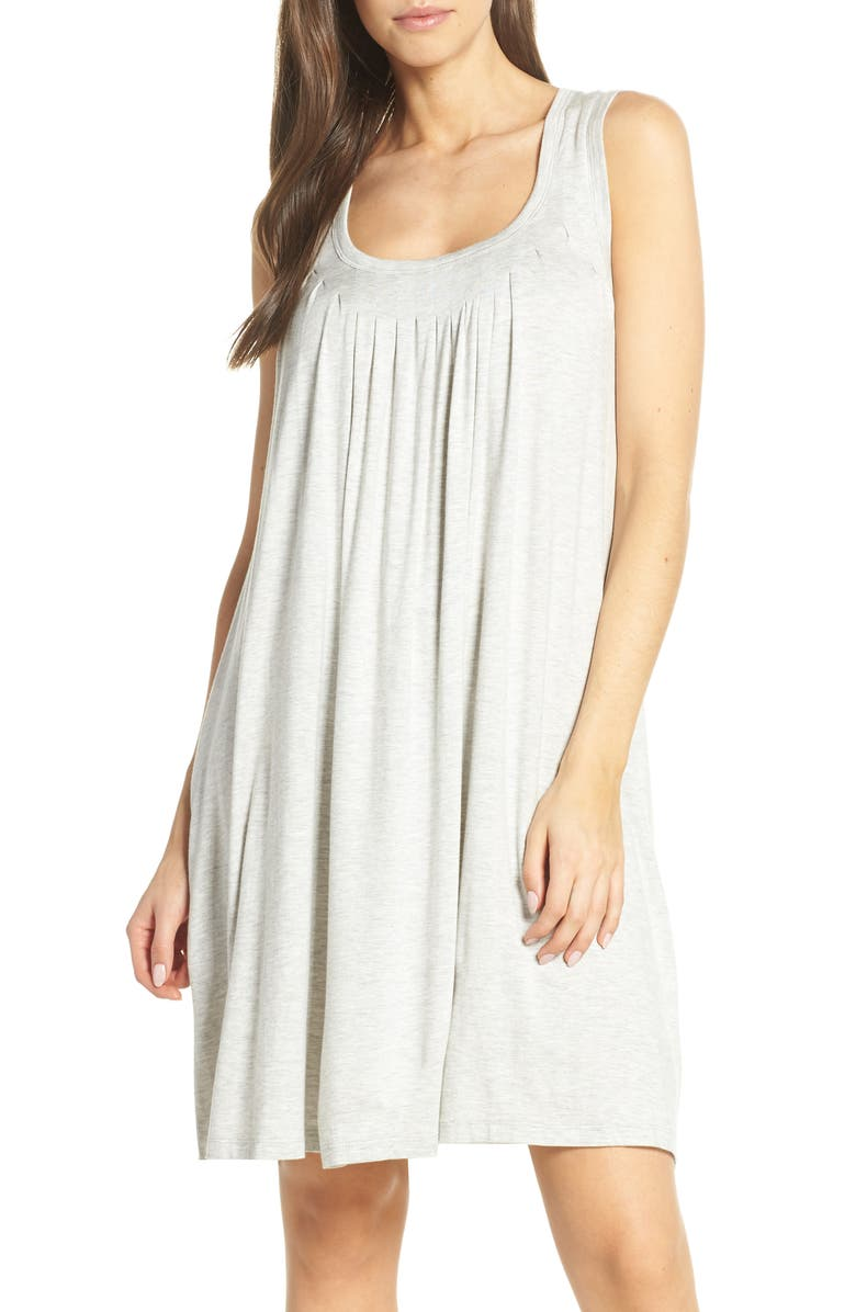 PAPINELLE Pleat Nightgown, Main, color, 050