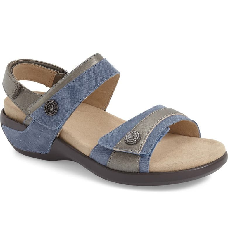 ARAVON 'Katherine' Sandal, Main, color, 472
