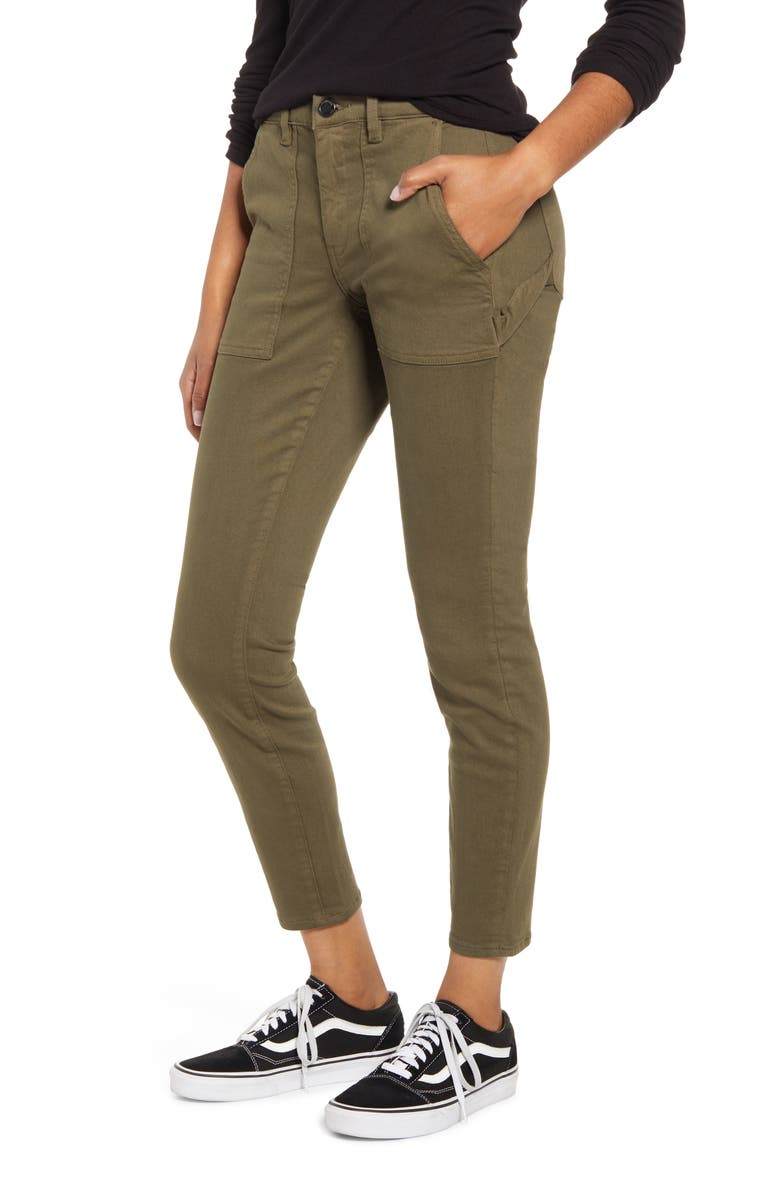BLANKNYC The Madison Carpenter Crop Skinny Pants, Main, color, 300